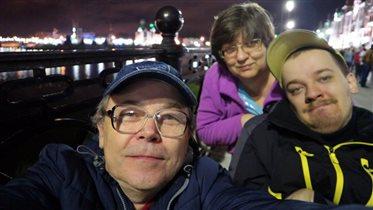 Я с мамой и папой, в 2019 году, летом Йошкар-Оле