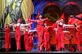 Русский Национальный Балет «Кострома»: пуант и лапоть