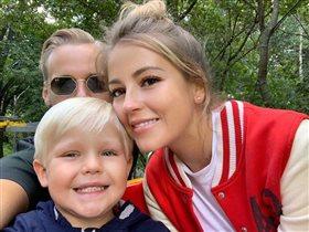 Анна Михайловская: фото с сыном и новым избранником