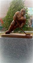 Хоккеист в городе Кушва