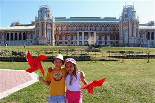 Яркое лето в Царицыно