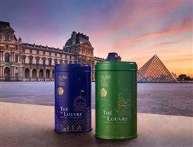 Чай премиум класса Пале де Те: авторские купажи с музеем Лувра