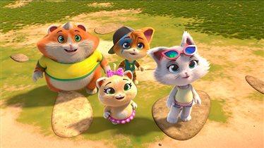 «44 котёнка»: новое анимационное шоу от создателей фей Winx на телеканале Карусель