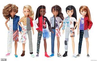 Кукла гендерно нейтральная