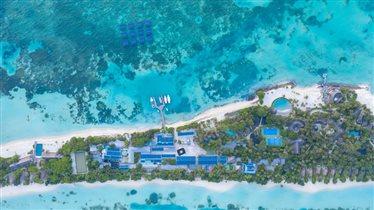Отель на Мальдивах LUX* South Ari Atoll: крупнейшая в мире плавающая солнечная батарея