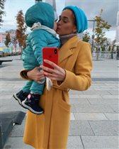 Анна Хилькевич и дочки: 'Два моих кусочка'
