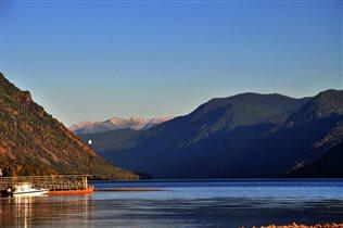 Осень озеро Телецкое