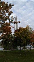 Осень в парке 300летия Санкт-Петербурга