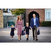 Кейт Миддлтон и принц Уильям дети школа