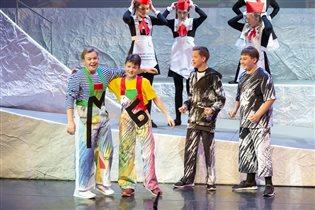 Премьера музыкального спектакля «Баранкин, будь человеком!» в театре «Новая Опера»
