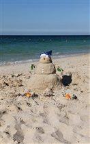 Арабский снеговик