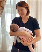 Ирина Слуцкая родила третьего