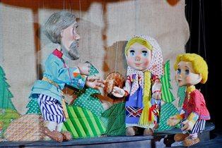 Интерактивная познавательно-развлекательная программа в Московском детском театре марионеток