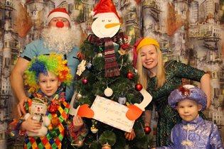 Новогодние каникулы в гостях у снеговика-почтовика