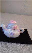 Китайский чайник из шёлка