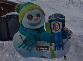 подружки-снеговички