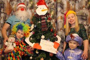 Новый год в гостях у снеговика - почтовика