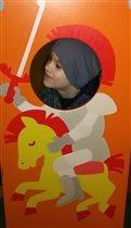 «Лыцарь» на желтом коне