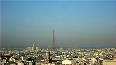 Париж с 9-го этажа