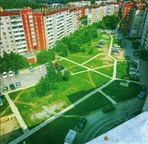 Новоуральск с балкона