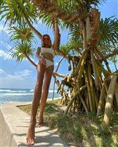 Мария Горбань: 'Зачем такая длинная нога?'