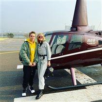 Полина Гагарина подарила сыну на 13 лет вертолётную прогулку