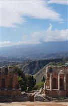 Таормина, античный греческий театр