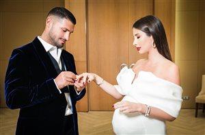 Кети Топурия вышла замуж на сносях