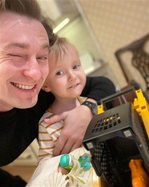 Сергей Безруков: 2 года самому младшему сыну
