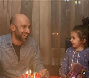 Евгений Папунаишвили с дочкой: один день рождения на двоих - умилительные фото