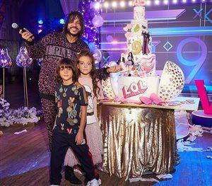 Филипп Киркоров - 9 лет дочери: торт с куклами LOL и грустная именинница