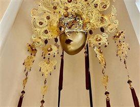 Анна Нетребко маска Венеция