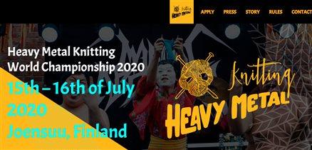Чемпионат по вязанию под рок-музыку в финском Йоэнсуу