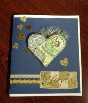 Сердчный проект,открытка