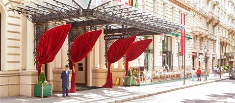 Вена, Австрия. Grand Hotel Wien - чаепитие и гастрономический квест по стране