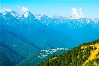 Высокогорье Кавказа