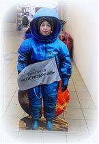 космонавт на марсе