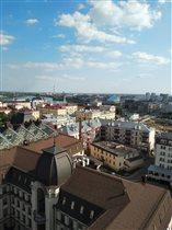 Казань с птичьего полета