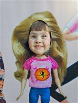 Барби-Маша в кадре!
