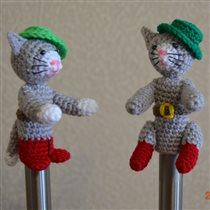 Пальчиковый кукольный театр Кот в сапогах