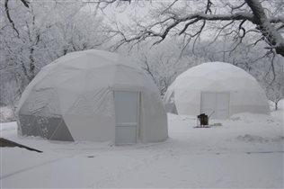 Снежные домики