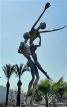 Фонтан 'Дождь любви' в Кемере