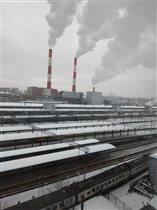 Киевский вокзал, Москва. Вид с с высоты.