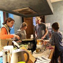Наталья Водянова кухня дети