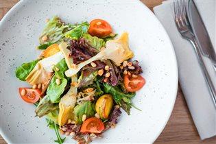 Постные рецепты с фото: салат от шефа