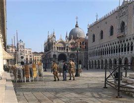 Коронавирус Италия Венеция