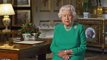 Коронавирус королева Елизавета 2