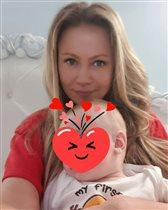Мария Миронова - 47-летие  с 8-месячным сыном: 'Мой подарок и моя молодость'