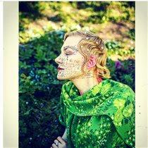 Рената Литвинова с разрисованным лицом: 'Когда уснула раньше детей'