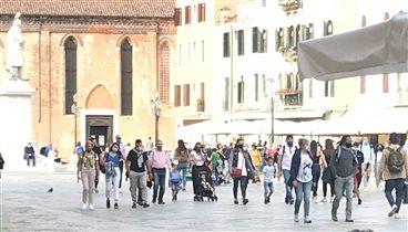Наплыв туристов в Венеции: пандемия ничему не научила